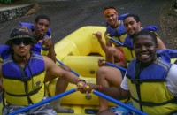 Rafting at Nantahala Gorge, NC