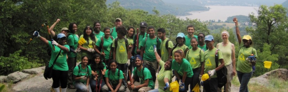 Mentoring teens with green summer jobs