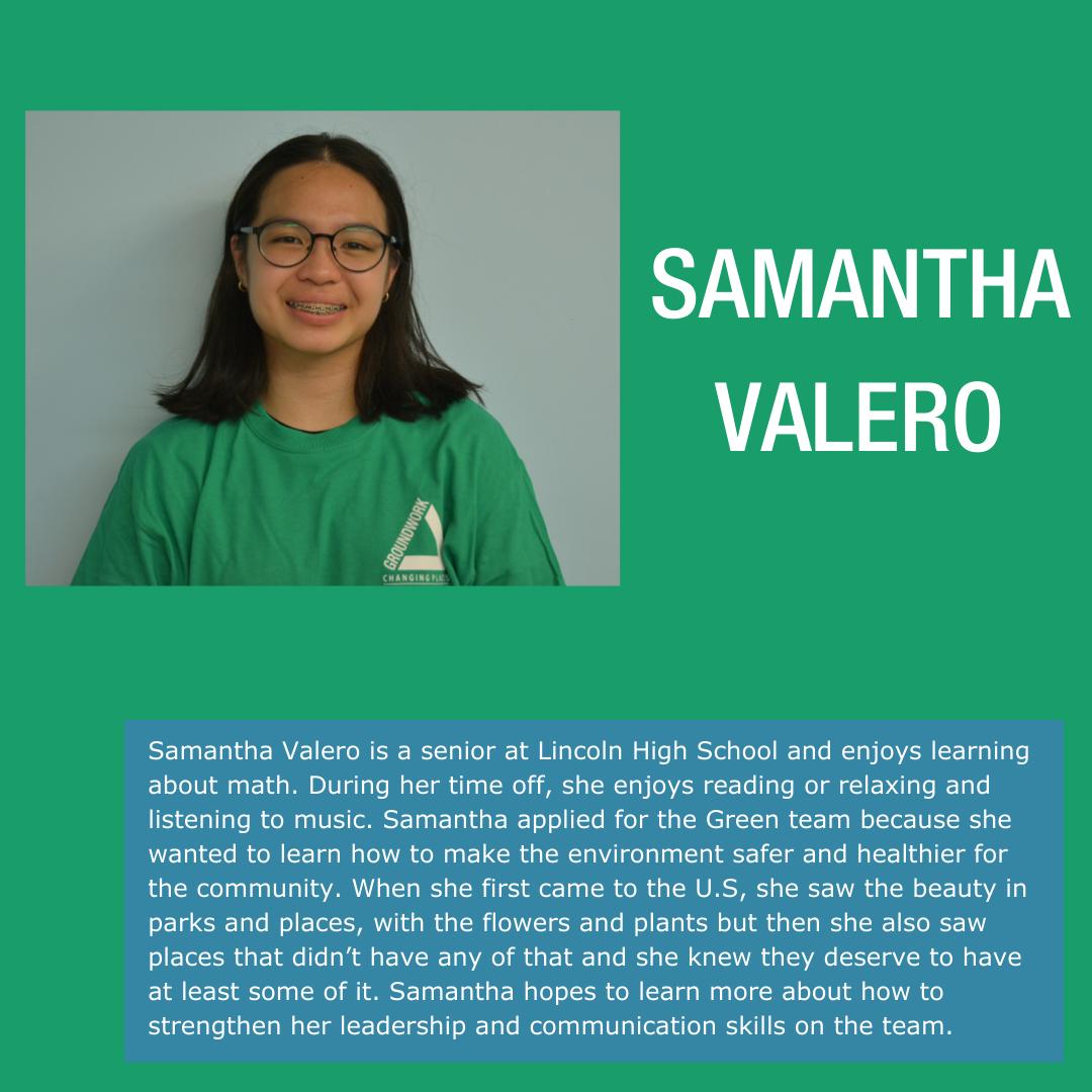 22-Samantha Valero